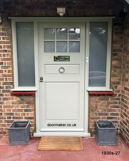 1930s front door and frame