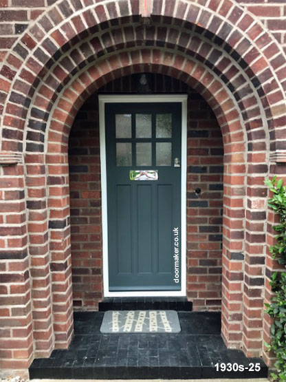 1930s style front door and frame