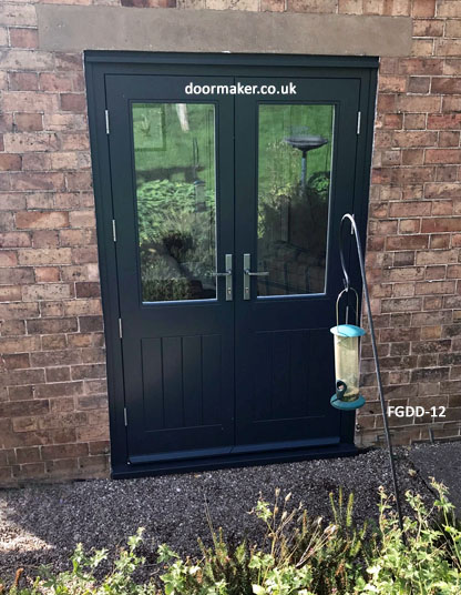 cottage style double doors