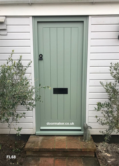 cottage door farrow and ball card room green