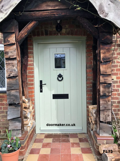 traditional cottage door and frame