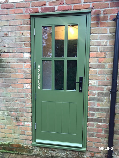cottage style door and frame