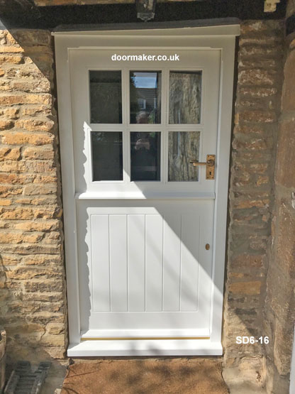 six pane stable door and frame