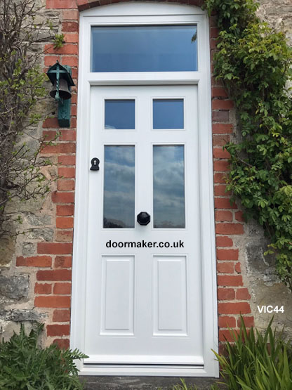 victorian style door and frame